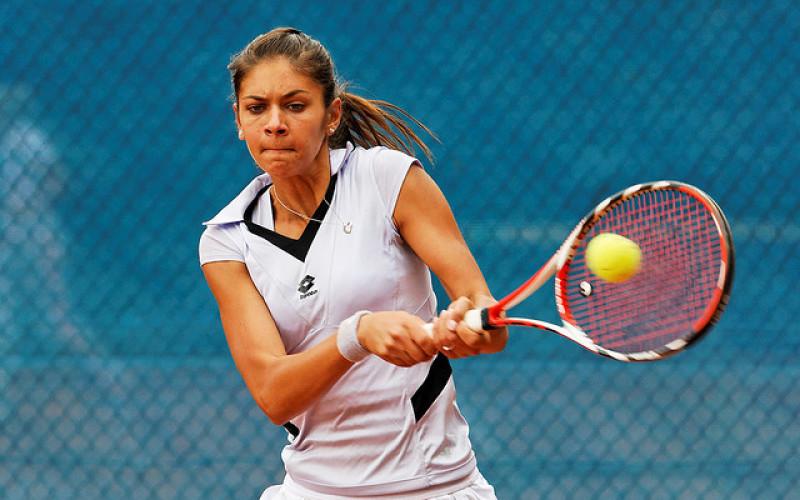 Andreea Mitu a demolat-o pe Eugenie Bouchard în Fed Cup – VIDEO