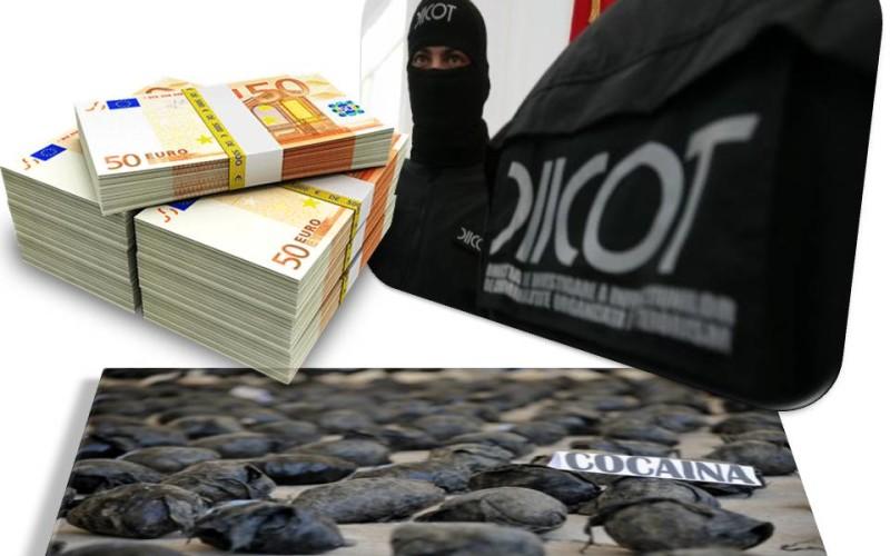 DIICOT a confiscat la Timișoara 70 de kg de cocaină neagră în valoare de 4,2 milioane de euro