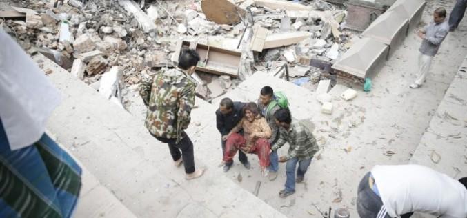 Peste 870 de persoane și-au pierdut viața în cutremurul devastator din Nepal