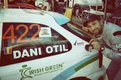 Dani Oţil a câştigat o maşină de raliu în urma unui pariu
