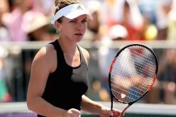 Simona Halep defilează la US Open. E în sferturi și la simplu