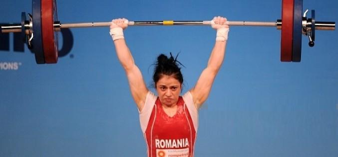 Irina Lepșa, dublă vicecampioană europeană la haltere la Tbilisi