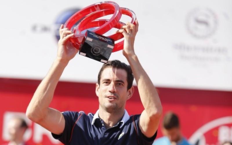 Guillermo Garcia Lopez, învingător la  BRD Năstase Țiriac Trophy 2015