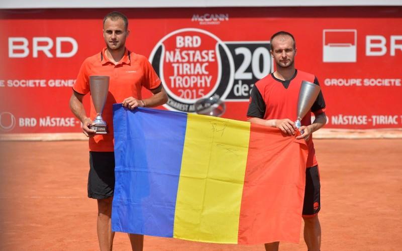 Adrian Ungur și Marius Copil au câștigat în mod dramatic finala de dublu de la BRD Năstase Țiriac Trophy 2015