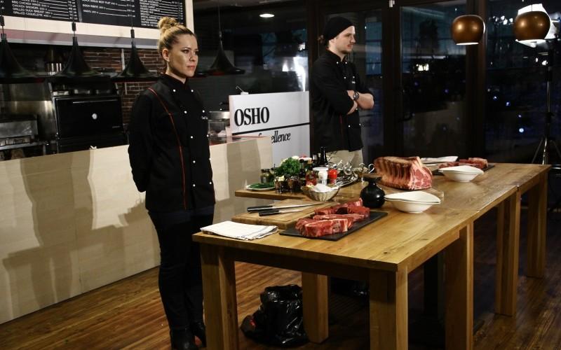 """Michael și Maria se bat pentru marele premiu la """"Hell's Kitchen – Iadul bucătarilor"""""""