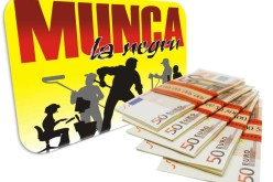 Amenzi de aproximativ jumătate de milion de euro pentru munca la negru