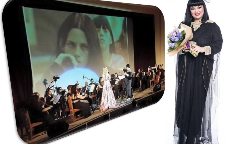 Ozana Barabancea a dirijat prima orchestră de femei din România