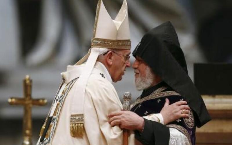 Scandal diplomatic între Ankara și Vatican. Papa Francisc acuză Turcia de genocid la adresa armenilor