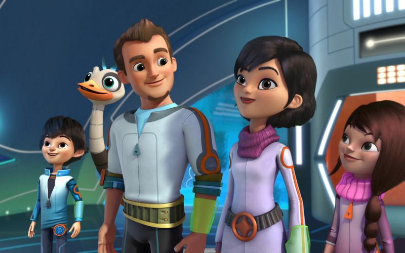 Miles în spațiu, un nou serial animat de aventuri pentru copii, la Disney Junior – VIDEO