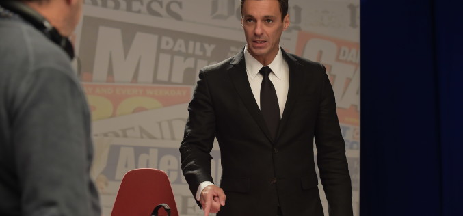 Mircea Badea își joacă propriul rol în filmul LIVE – VIDEO