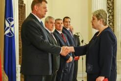 Sevil Shhaideh a depus jurământul în fața lui Iohannis, în funcția de Ministru al Dezvoltării