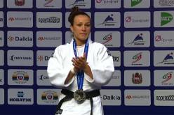 Andreea Chițu, medalie de argint la Mondialele de Judo de la Astana