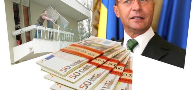 Statul român cheltuie 300.000 de euro pentru modernizarea Vilei în care va sta Băsescu