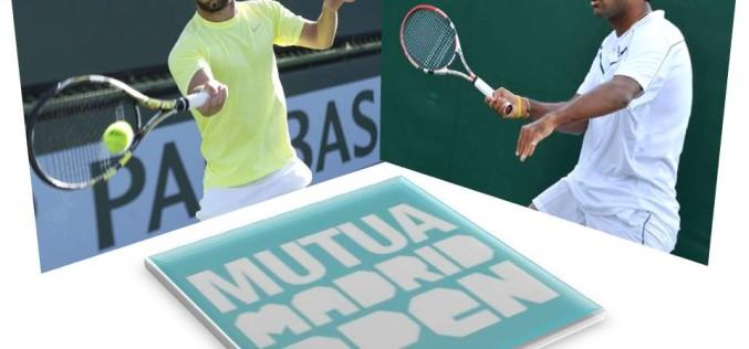 Florin Mergea și Rohan Bopanna, în finala de dublu a turneului de la Madrid