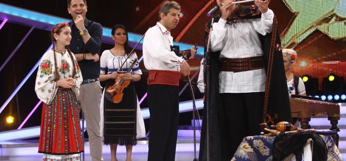 """Gelu Voicu cântă la """"Next Star"""" la țeavă și la pieptene"""