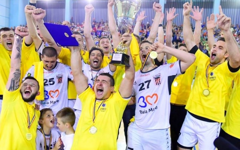 HCM Minaur Baia Mare, Campioană României la handbal masculin după 16 ani de pauză