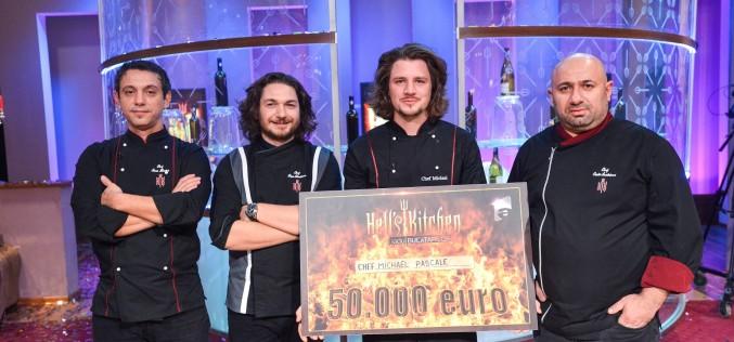 """Michael Pascale a câștigat sezonul doi al emisiunii """"Hell's Kitchen – Iadul bucătarilor"""""""