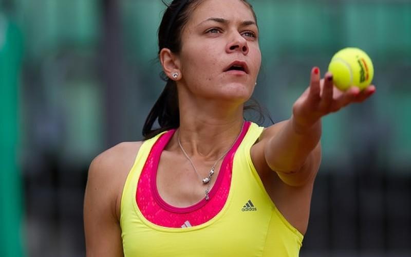 Andreea Mitu s-a oprit în optimi de finală la Roland Garros