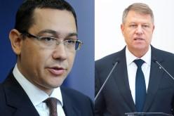 Președintele Iohannis îi cere demisia lui Ponta din funcția de Prim Ministru al României