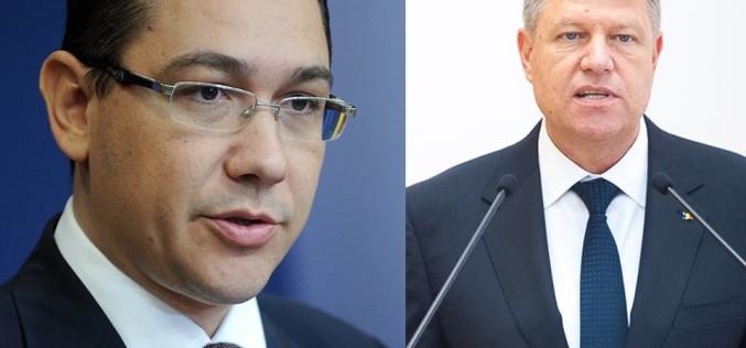 Klaus Iohannis a lut foc când a aflat că Victor Ponta i-a tăiat salariul