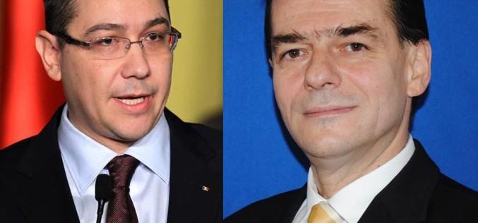PNL a depus moțiune de cenzură la adresa Guvernului Ponta
