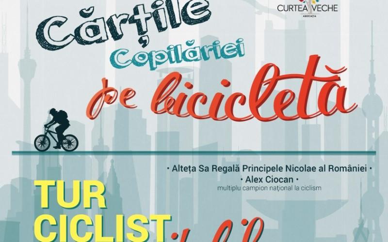 """ASR Principele Nicolae al României și turul ciclist """"Cărţile Copilăriei pe bicicletă"""", la Constanţa"""