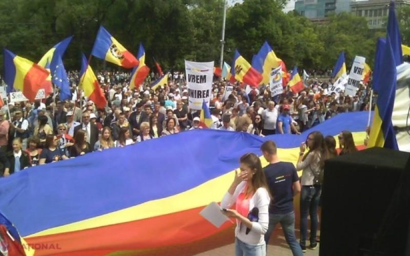 O localitate din Republica Moldova a votat Unirea cu România