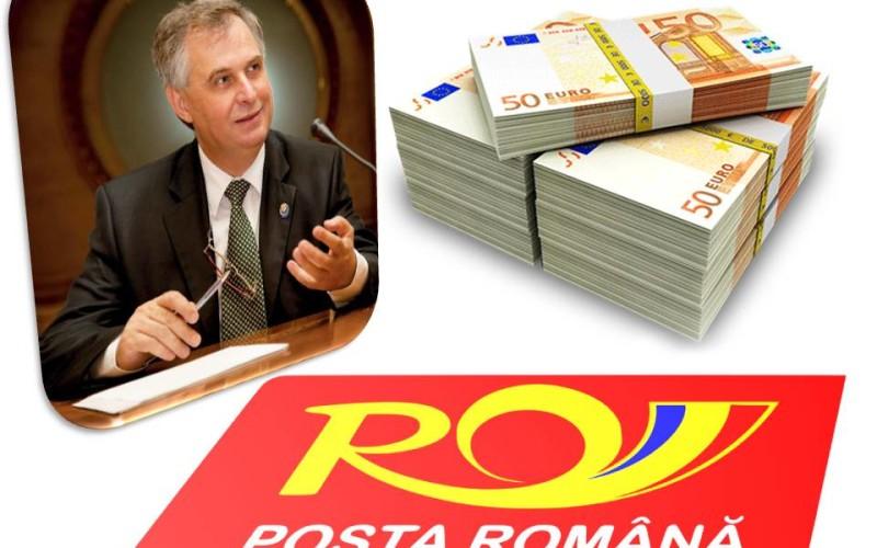 Valerian Vreme, tun de 300.000 de euro la Poșta Română. A folosit poșta ca să trimită gratuit felicitări