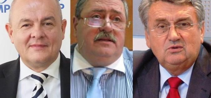 Senatorii Iliescu Lucian și Măgureanu Cezar Mircea și deputatul Anton Marin, cercetați penal de DNA