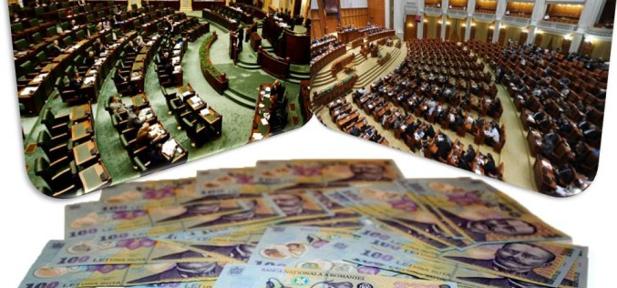 Senatorii și deputații și-au votat pensii nesimțite