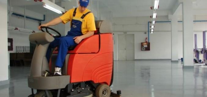 Firmele care oferă servicii de curățenie industrială câștigă tot mai mult teren în România