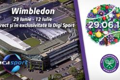 Digi Sport transmite exclusiv în România turneul de la Wimbledon