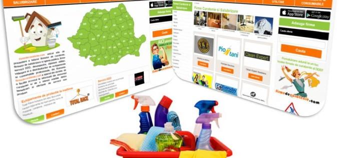 Peste 100 de firme de curățenie și DDD s-au înscris pe site-ul firmedecuratenie.com