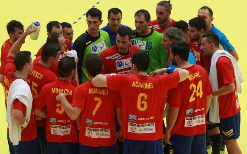 România – Italia 44-25, în partida retur de precalificare la Euro 2018 la handbal masculin