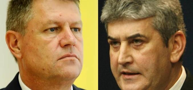 Klaus Iohannis l-a desemnat pe Gabriel Oprea prim ministru interimar în locul lui Ponta