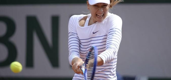 Maria Sharapova, eliminată în optimi la Roland Garros de Lucie Safarova