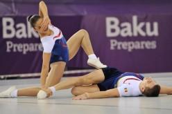 România a ratat la 20 de sutimi, aurul la gimnastică aerobică la Jocurile Europene de la Baku
