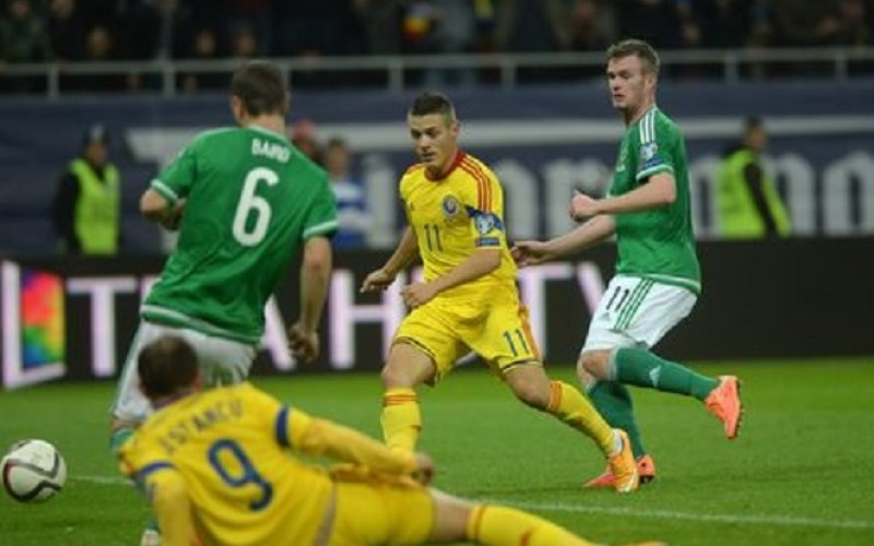 România, scor 0-0, în partida cu Irlanda de Nord din preliminariile Euro 2016