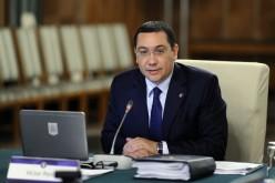 Victor Ponta a revenit în România cu barbă și cârje