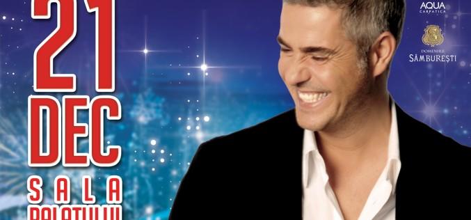 Tenorul ALESSANDRO SAFINA revine de Crăciun cu un concert la Sala Palatului