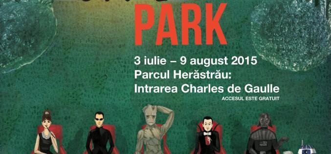 Proiecții de film în aer liber la CinePark, realizate de Digi Film
