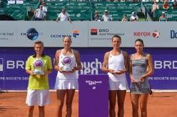 Andreea Mitu și Patricia Maria Țig, bătute măr în finala de dublu de la BRD Bucharest Open