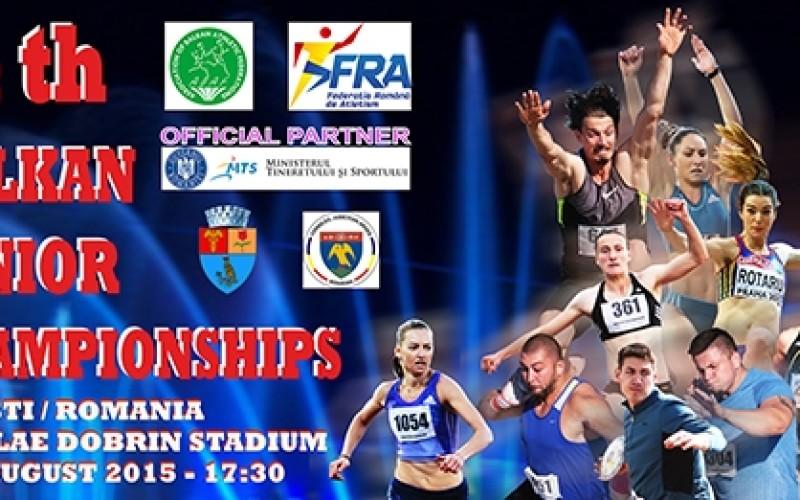 Campionatele Balcanice de atletism, găzduite al doilea an consecutiv de Pitești