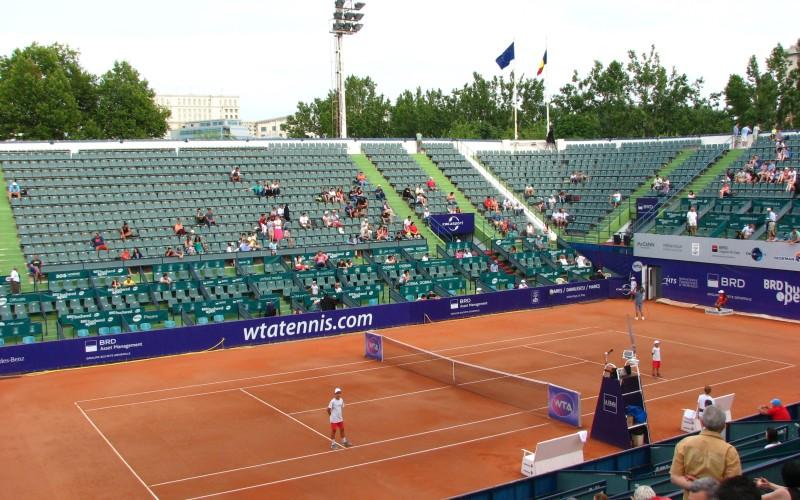 Patru victorii românești în prima zi la turneul de tenis BRD Bucharest Open 2015