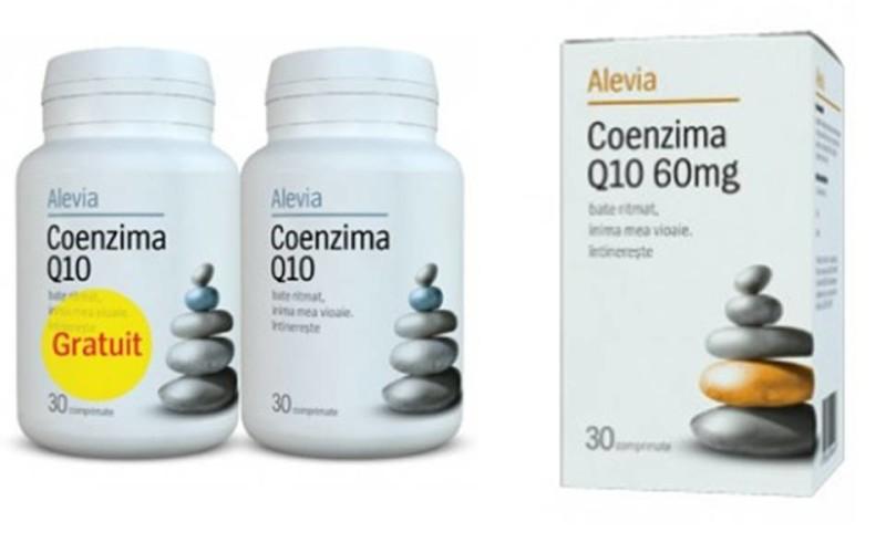 Coenzima Q10 – ajutor pentru sănătate