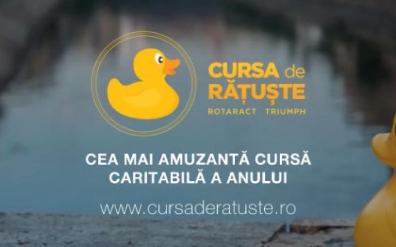 Cursă caritabilă cu 5000 de rățuște pe Dâmbovița