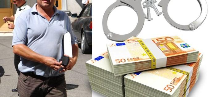 Procurorul Emilian Eva, arestat preventiv pentru luare de mită și spălare de bani