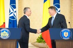Secretarul general al NATO, Jens Stoltenberg a venit în vizită oficială în România