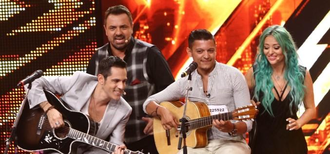 Delia, Brenciu și Ștefan Bănică au cântat împreună pe scena X Factor