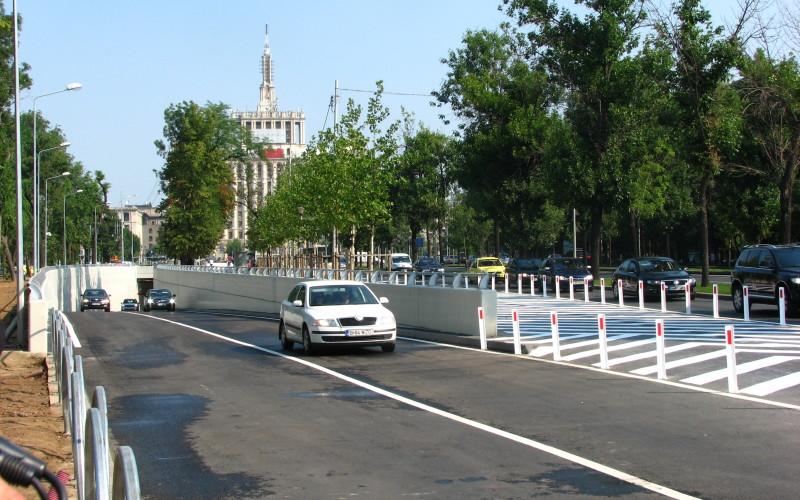 Sorin Oprescu a inaugurat pasajul rutier subteran de la Casa Presei